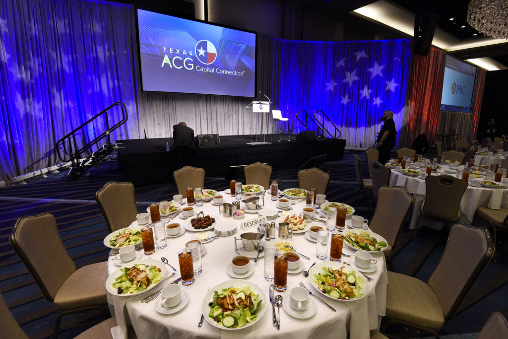 Elegant Place Settings and Stage