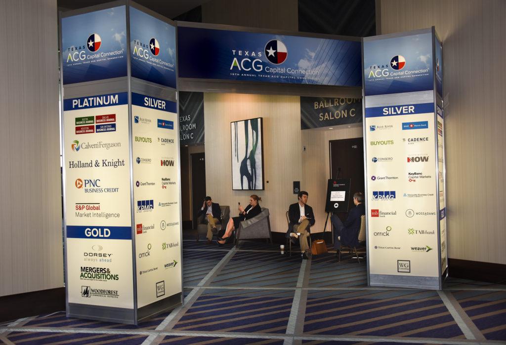 Custom Entrance Showcasing Sponsors
