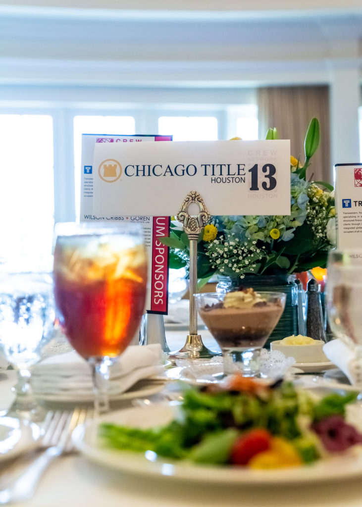 Elegant Table Setting with Sponsor Recognition